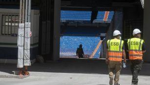 Real Madrid no jugará en el Bernabéu el resto de la temporada
