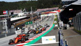 Una de las carreras de Fórmula Uno