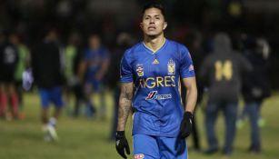 El zaguero durante un compromiso en el Apertura 2019