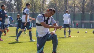 Cruz Azul regresó a las prácticas en medio de una 'buena vibra'