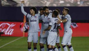 LaLiga: Atlético de Madrid goleó al Osasuna, con Héctor Herrera los 90 minutos