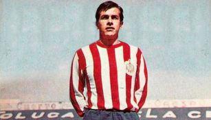 Arturo Chaires, previo a un juego de Chivas
