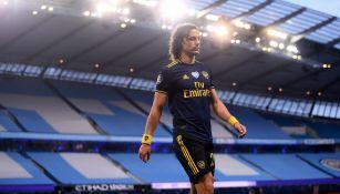 Premier League: David Luiz dejó entrever su salida del Arsenal