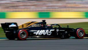 Piloto de Haas en acción