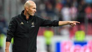 Zidane en partido