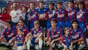Atlante en el Estadio Azulgrana en la década de los 90