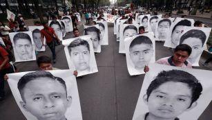 Marcha por cuatros años de Ayotzinapa