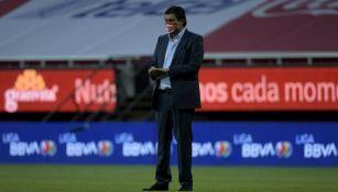 Chivas: Luis Fernando Tena se dijo satisfecho por la victoria ante Atlas