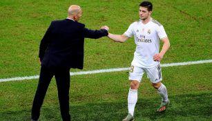 Real Madrid: Luka Jovic, aislado por riesgo de tener Coronavirus