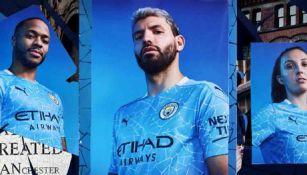 Elementos del Manchester City presumen su nueva piel