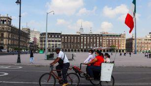 Zócalo de la Ciudad de México tras reapertura