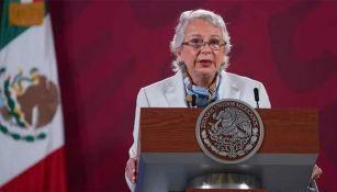 Olga Sánchez Cordero, titular de Segob