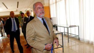 Champions League: Presidente del Napoli criticó decisión de jugar en Barcelona
