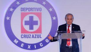 Billy Álvarez renunció a la Cooperativa de Cruz Azul