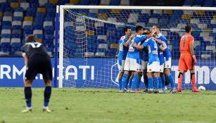 Chucky Lozano: Napoli cierra la temporada con victoria de 3-1 sobre la Lazio
