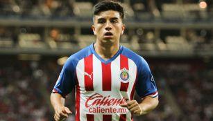 Fernando Beltrán en partido con Chivas