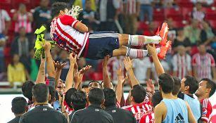 Omar Bravo tras el partido contra Morelia