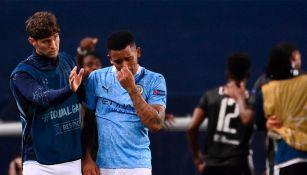 Manchester City: Gabriel Jesús rompió en llanto tras eliminación vs Lyon
