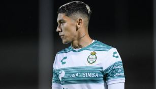 Gerardo Arteaga en acción con Santos