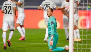 Ter Stegen en la goleada vs Bayern