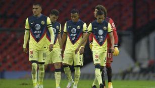 América: Las Águilas cayeron ante Rayados en su regreso al Estadio Azteca