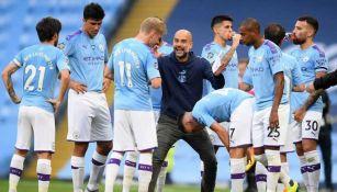 El presidente de la UEFA reconoció su enojo por el fallo al Manchester City
