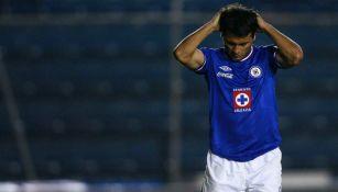 Maxi Biancucchi como jugador de Cruz Azul