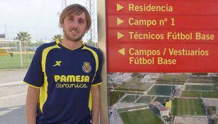 Raúl Herrera en su paso por Villarreal