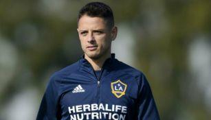 Chicharito: Javier Hernández no jugará con el Galaxy ante el LAFC