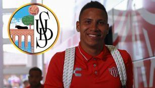 Salamanca: Puma Chávez es nuevo jugador del equipo español de segunda división