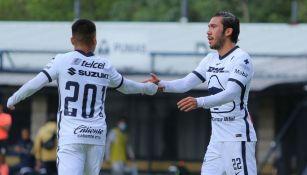 Pumas: Juan Pablo Vigón durante un partido