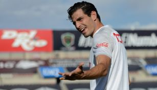 Antonio Briseño previo a un partido con Chivas