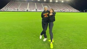 David Beckham junto a su esposa Victoria