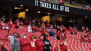 Aficionados en Arrowhead Stadium