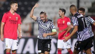 Benfica cayó ante PAOK en fase previa de Champions