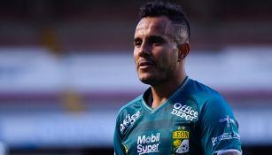 Chapo Montes, en un juego del León