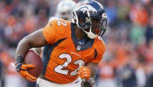 CJ Anderson, veterano corredor de los Denver Broncos