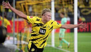 Bundesliga: Borussia Dortmund goleó al Mönchengladbach con brillante actuación de Haaland y Reyna