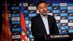 Bartomeu: 'Nadie está pensando en renunciar, tenemos mucho trabajo antes del cierre de mercado'
