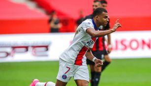 PSG: Kylian Mbappé regresó y encaminó triunfo ante Niza