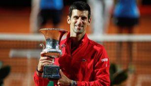 Djokovic campeón del Abierto de Roma