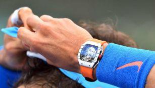 Rafael Nadal lució reloj valorado en casi un millón de dólares