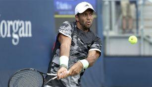 Fernando Verdasco en un partido de Grand Slam