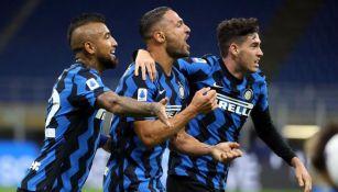 Serie A: Inter de milan venció a la Fiore en un juego lleno de emociones