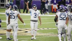 NFL: Titans le dio la vuelta al partido para vencer a los Vikings