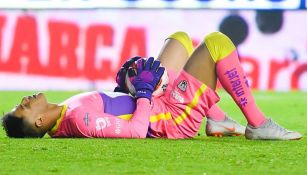 Talavera se lamenta en un juego de Pumas