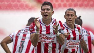 Jesús Molina tras su gol contra Mazatlán