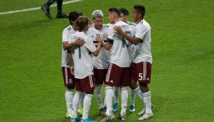 México en partido ante Bermudas
