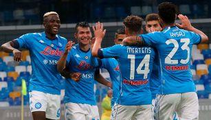 Chucky Lozano y Napoli, limpios de Coronavirus tras partido vs Genoa
