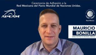 Mauricio Bonilla, Director del Pacto Mundial México